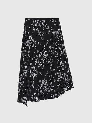 O-SPRING-LONG, Black - Skirts