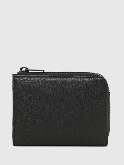 Diesel - L-12 ZIP, Black - Zip-Round Wallets - Image 2