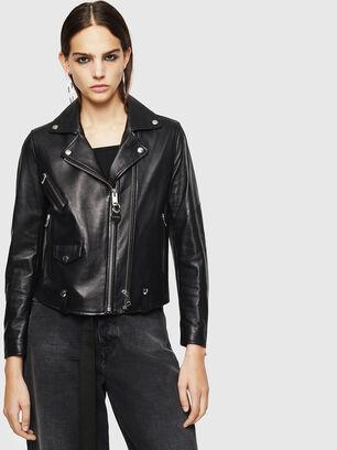 L-LYFA, Black - Leather jackets