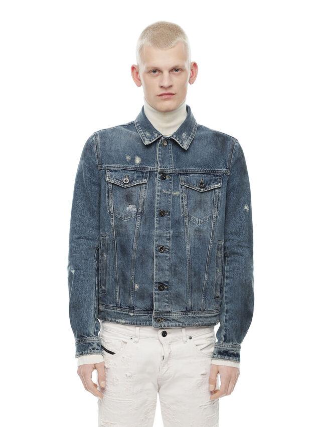 Diesel - JARTE, Blue Jeans - Jackets - Image 1