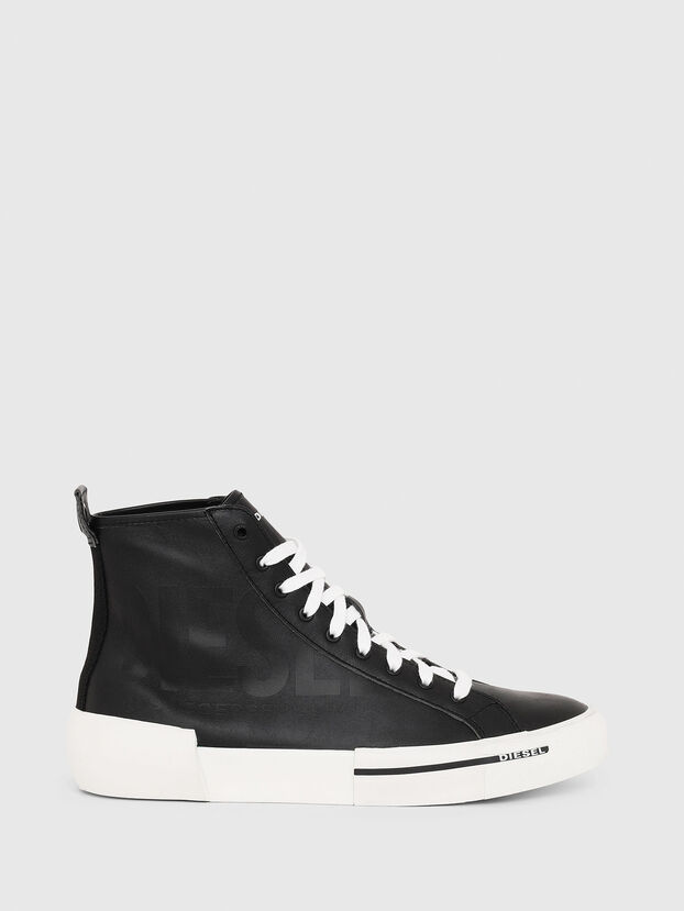 S-DESE MID CUT, Black - Sneakers