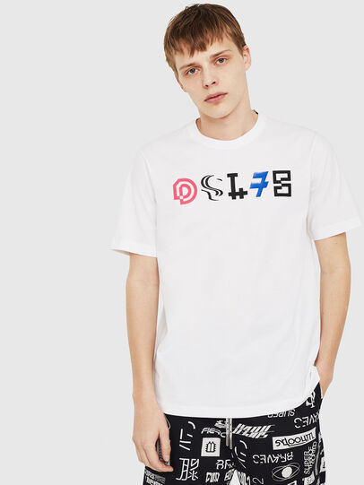 Diesel - T-JUST-Y17,  - T-Shirts - Image 1
