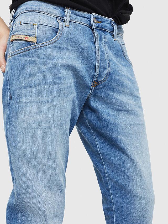 Diesel - D-Bazer 087AQ, Light Blue - Jeans - Image 4