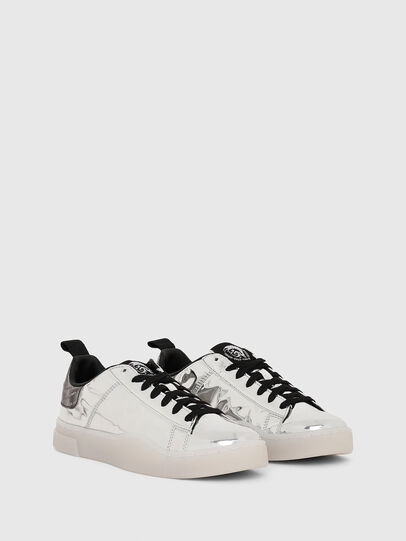 Diesel - S-CLEVER LOW LACE W, Silver - Sneakers - Image 2