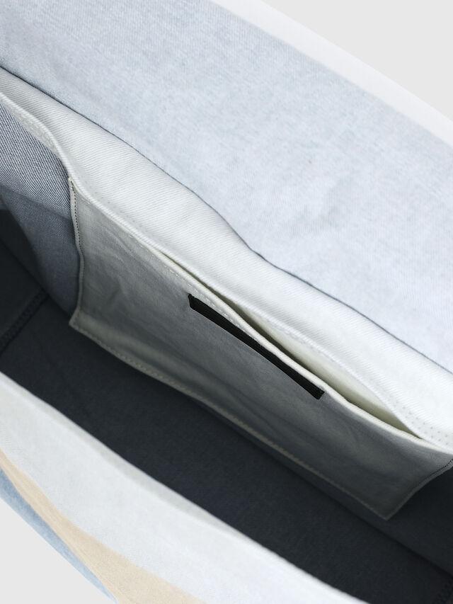 Diesel - D-THISBAG MESSENGER, Blue/White - Crossbody Bags - Image 4