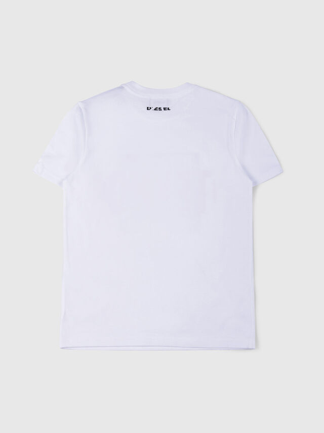 Diesel - TJUSTWA, White - T-shirts and Tops - Image 2
