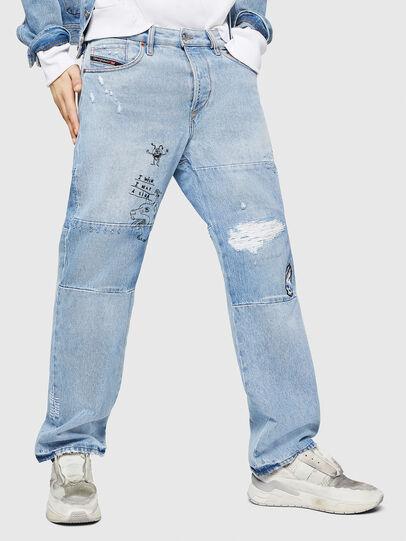 Diesel - D-Kodeck 0078F, Light Blue - Jeans - Image 1