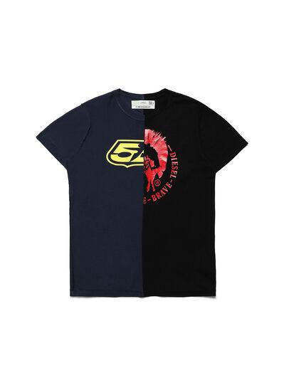 Diesel - D-MESO&MESO, Black - T-Shirts - Image 1