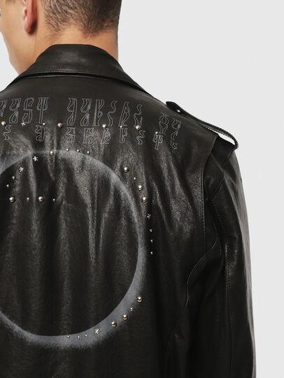 Diesel - SE-LEANDRO,  - Leather jackets - Image 4
