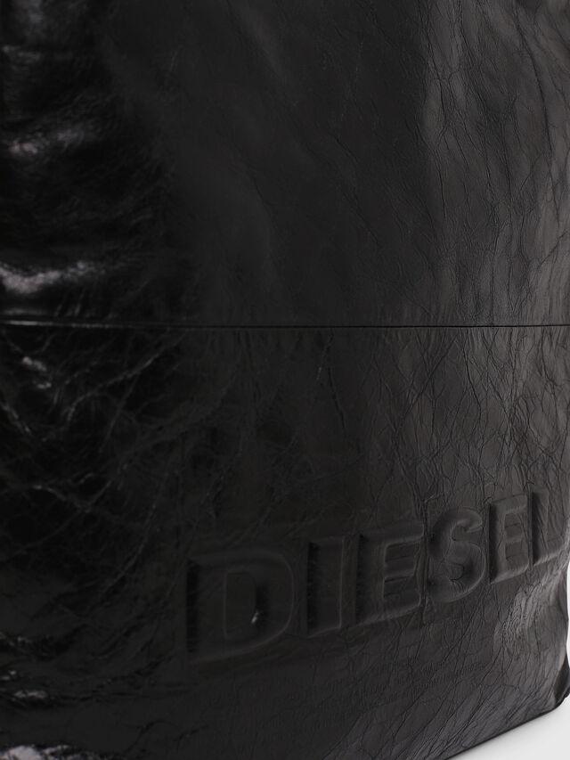 Diesel - F-LITT SHOPPER N/S, Black - Shopping and Shoulder Bags - Image 3