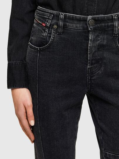Diesel - Babhila 009UZ, Black/Dark grey - Jeans - Image 3