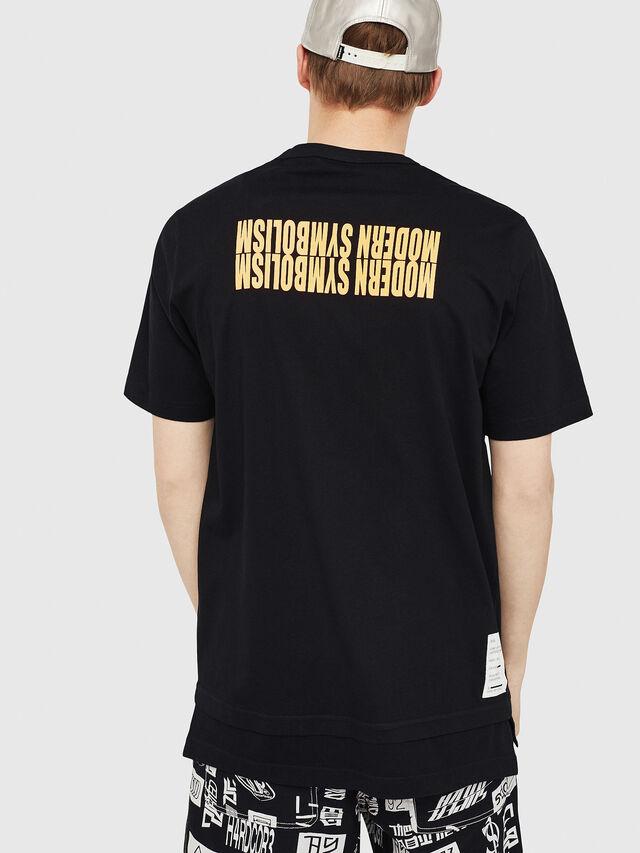 Diesel - T-YORI, Black - T-Shirts - Image 2