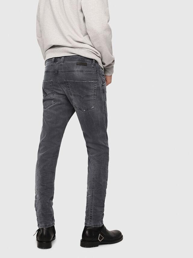 Diesel - Krooley JoggJeans 069EP, Black/Dark grey - Jeans - Image 2