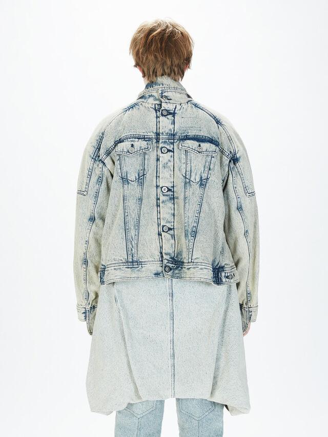 Diesel - SOJK01, Grey Jeans - Jackets - Image 4