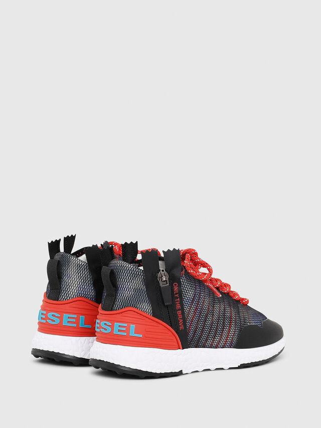Diesel - SN MID 11 S-K YO, Blue/Red - Footwear - Image 3