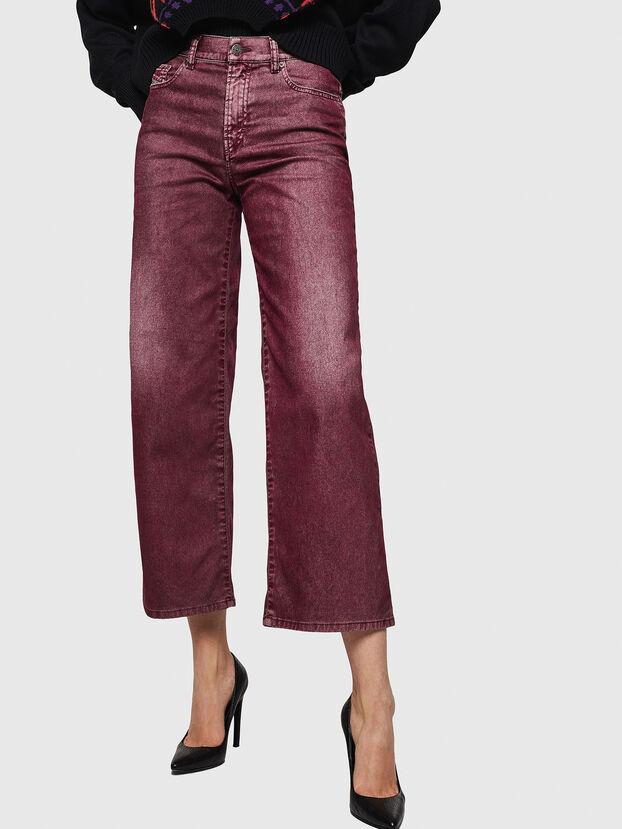 Widee 0091T, Burgundy - Jeans