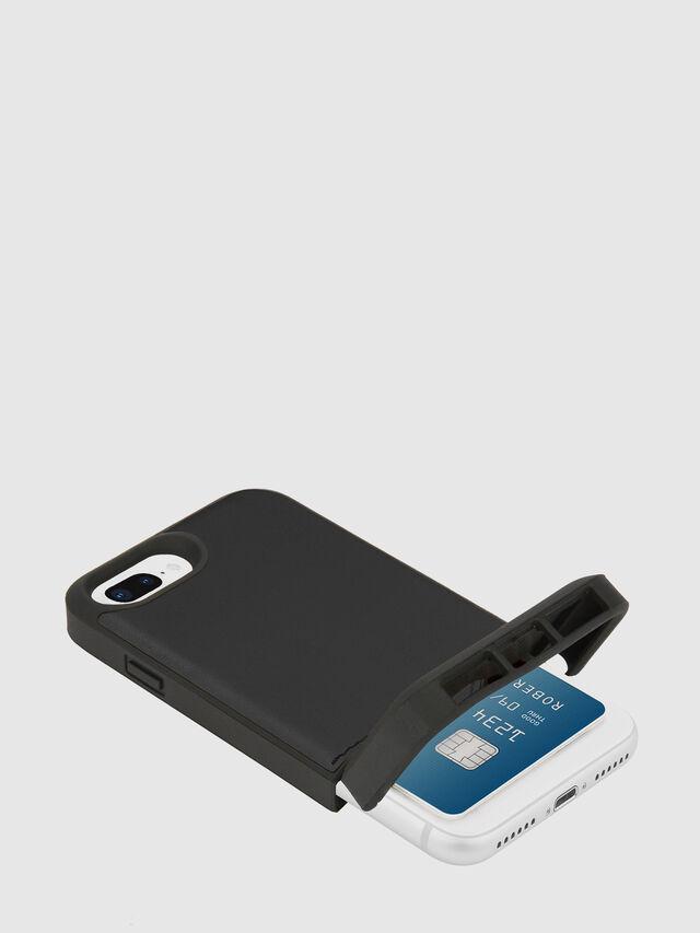 Diesel - CREDIT CARD IPHONE 8 PLUS/7 PLUS/6S PLUS/6 PLUS CASE, Black - Cases - Image 2