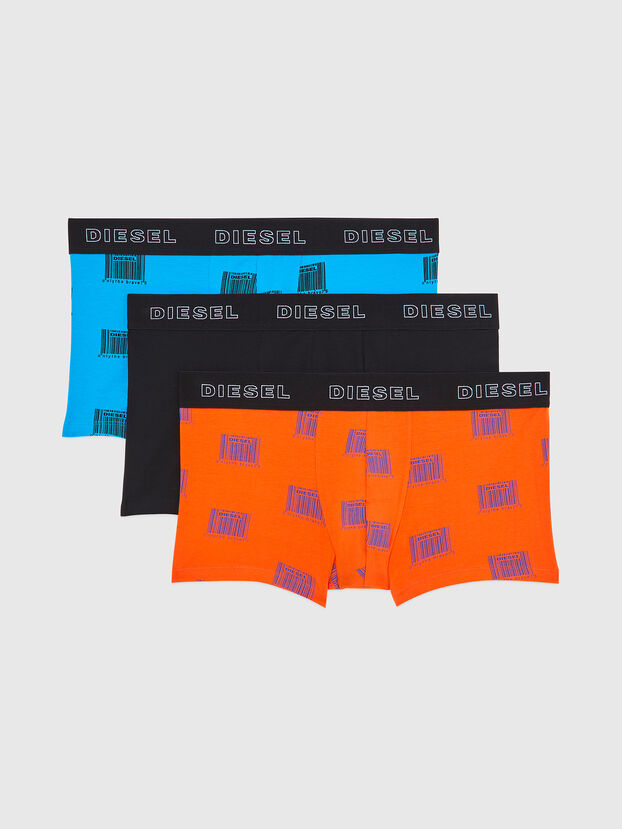 UMBX-DAMIENTHREEPACK, Orange/Black - Trunks