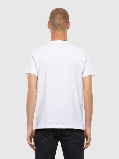Diesel - T-DIEGOS-N25, White - T-Shirts - Image 2