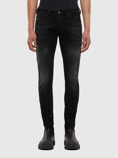 Diesel - Sleenker 0092B, Black/Dark grey - Jeans - Image 1