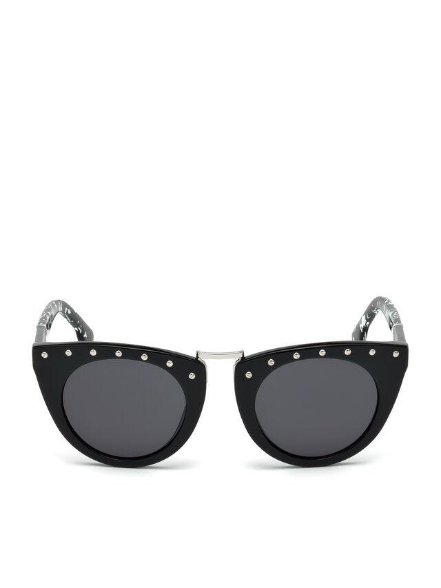 Diesel - DL0211, Black - Eyewear - Image 1