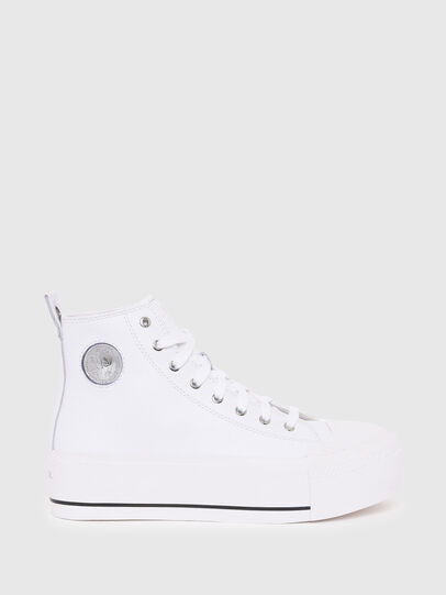 Diesel - S-ASTICO MC WEDGE, White - Sneakers - Image 1