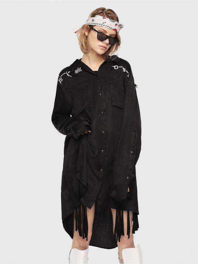 Diesel - C-NIA, Black - Shirts - Image 1