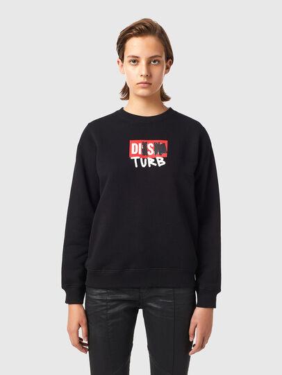 Diesel - F-ANGS-B3, Black - Sweaters - Image 1