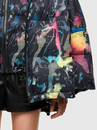 Diesel - W-JANUA, Black - Winter Jackets - Image 4