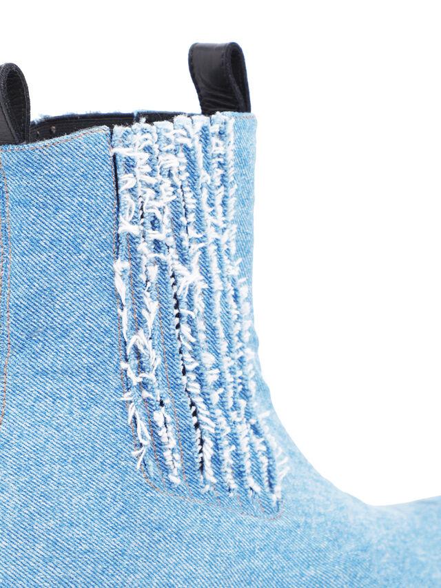 Diesel - SOCHELSEABOOT, Blue Jeans - Boots - Image 6