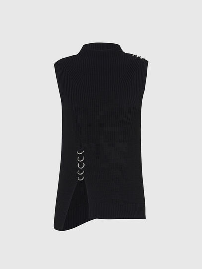 Diesel - M-ESSIE, Black - Knitwear - Image 1
