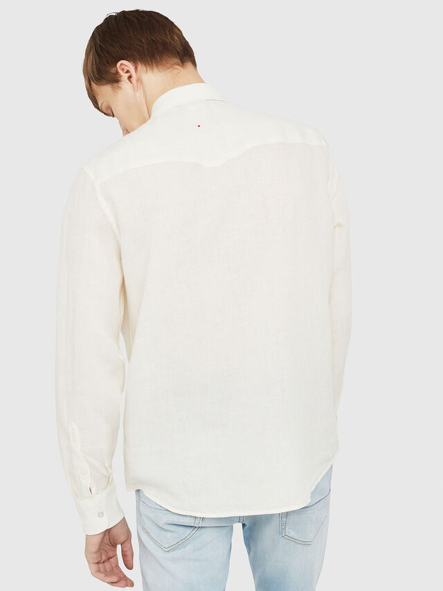 Diesel - S-PLAN-A, White - Shirts - Image 2