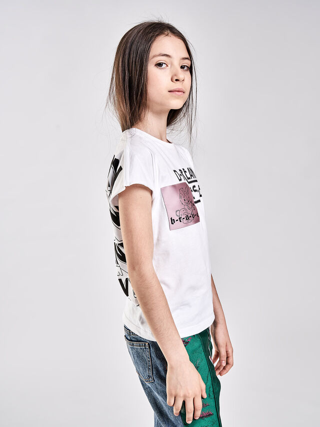 Diesel - TSOLARY, White - T-shirts and Tops - Image 4