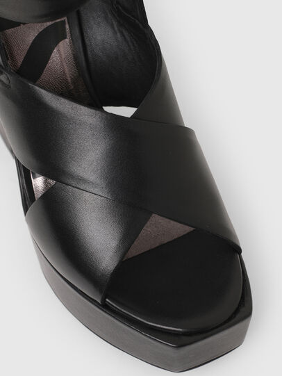Diesel - SA-JULIA, Black - Sandals - Image 6