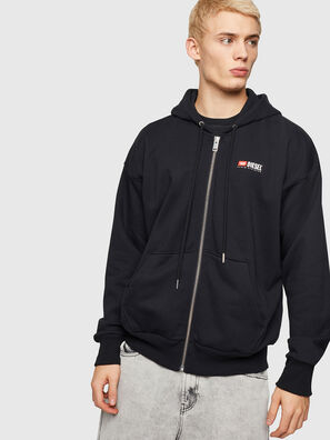 S-ALBY-ZIP-DIV,  - Sweaters