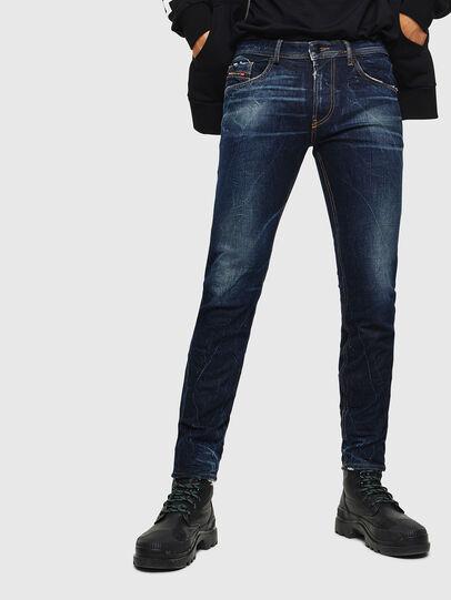 Diesel - Thommer 0097H, Dark Blue - Jeans - Image 1