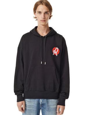 LR-S-GIRK-HOOD-VIC, Black - Sweaters