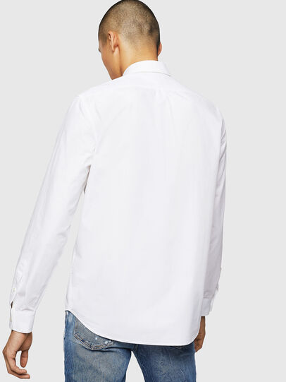 Diesel - S-MOI-R-BW, White - Shirts - Image 2