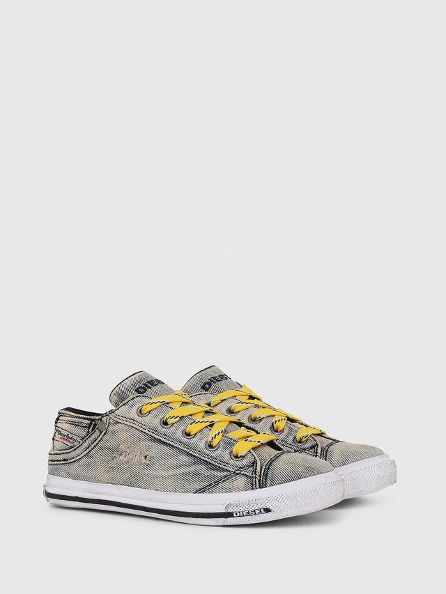 Diesel - SN LOW LACE DENIM 13, Grey Jeans - Footwear - Image 2