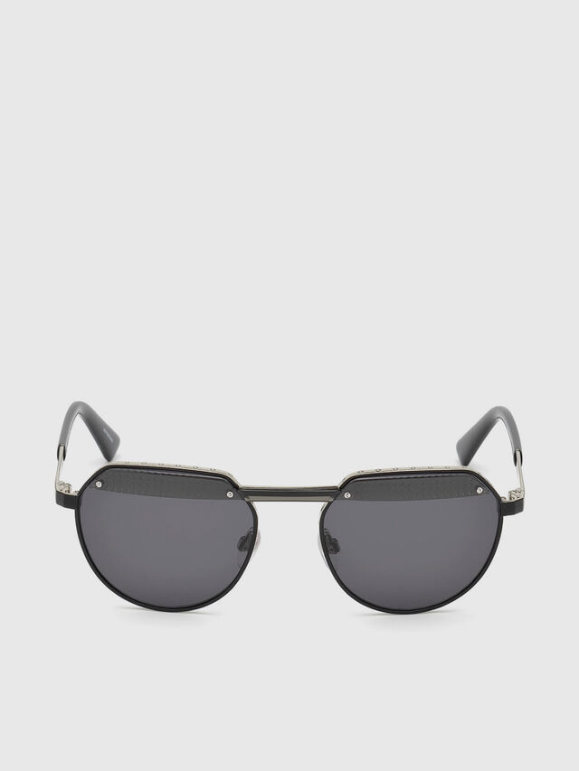 Diesel - DL0260, Black - Sunglasses - Image 1