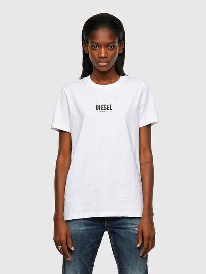 Diesel - T-SILY-ECOSMALLOGO, White - T-Shirts - Image 1
