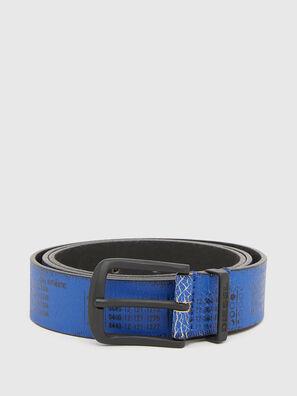 B-DERUB, Black/Blue - Belts