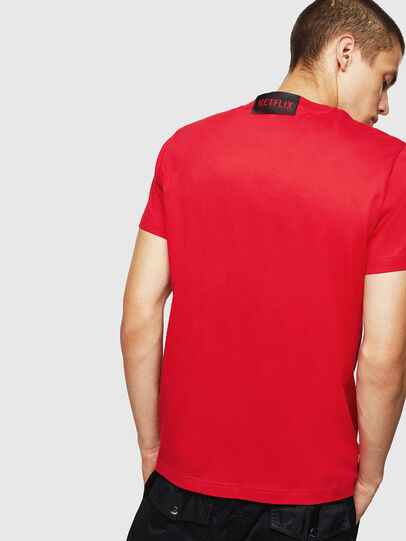 Diesel - LCP-T-DIEGO-LISBOA, Red - T-Shirts - Image 3