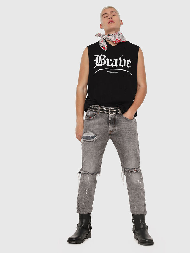 Diesel - Mharky 089AT, Light Grey - Jeans - Image 5