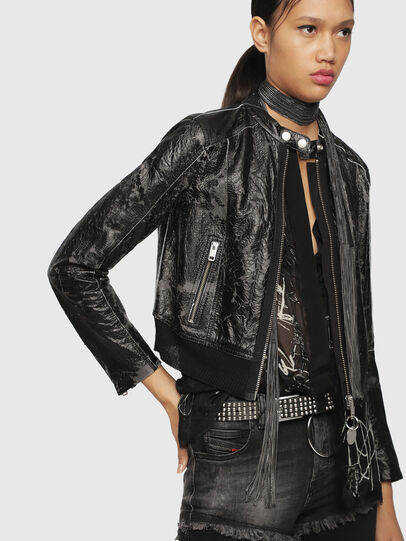 Diesel - L-LYSSA-D,  - Leather jackets - Image 5