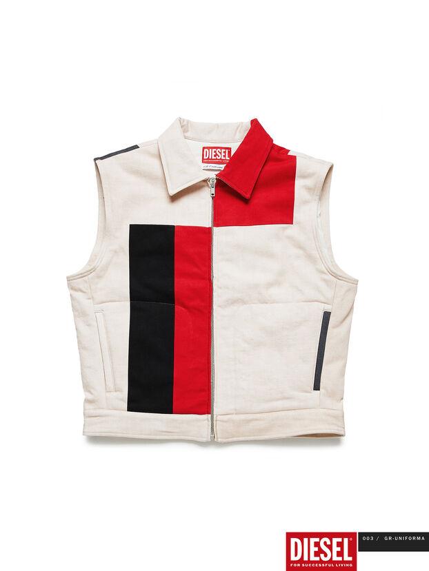 GR02-J303-P, White - Denim Jackets