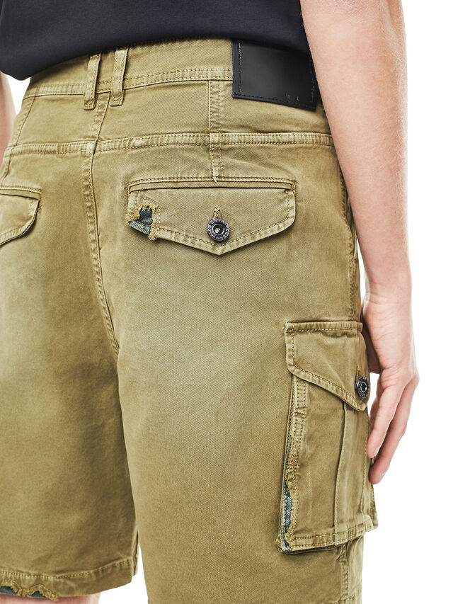Diesel - TYPE-2908, Military Green - Shorts - Image 4