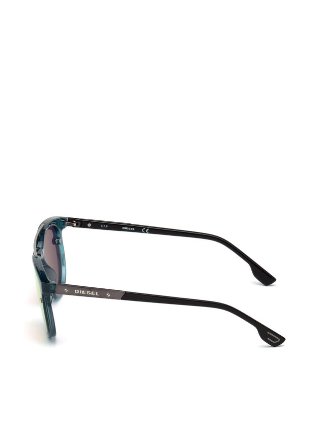 Diesel DL0216, Blue/Orange - Eyewear - Image 3