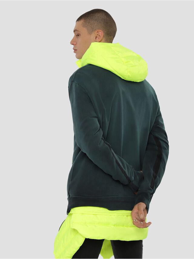 Diesel - S-BAY-YA, Dark Green - Sweaters - Image 2
