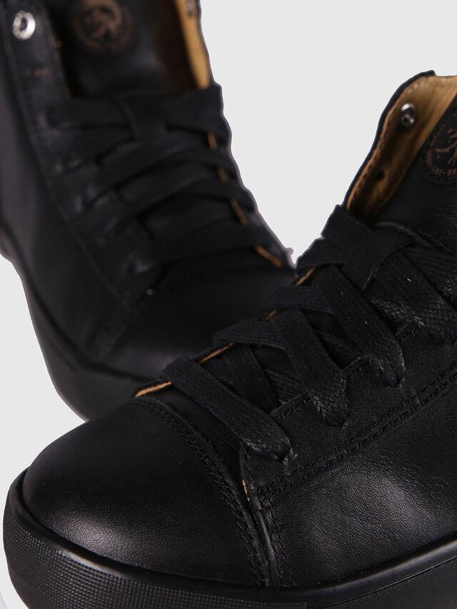 KIDS SN MID 24 NETISH CH, Black - Footwear - Image 6